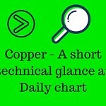 Copper – A short Price action glance on Daily chart