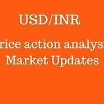 USD/INR – Price action is trading in a Range bound market.